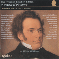 Cover of HYP200 - Schubert: An introduction to The Hyperion Schubert Edition