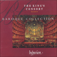 Cover of KING4 - The King's Consort Baroque Collection