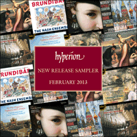 Cover of HYP201302 - Hyperion monthly sampler � February 2013
