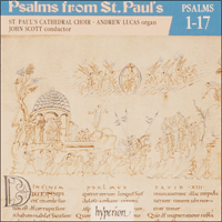 Cover of CDP11001 - Psalms from St Paul's, Vol. 01