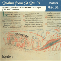 Cover of CDP11008 - Psalms from St Paul's, Vol. 08