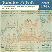 CDP11012 - Psalms from St Paul's, Vol. 12 139-150