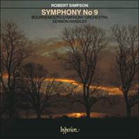 Cover of GAW21299 - Simpson: Symphony No 9