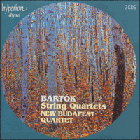 Cover of CDD22003 - Bart�k: String Quartets