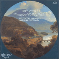 CDD22004 - Beethoven: Complete Cello Music