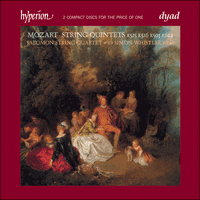 Cover of CDD22005 - Mozart: String Quintets