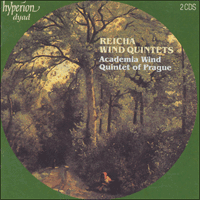 Cover of CDD22006 - Reicha: Wind Quintets