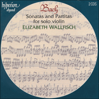 Cover of CDD22009 - Bach: Sonatas and Partitas for solo violin
