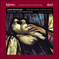 Cover of CDD22022 - Sheppard: Western Wynde Mass & other sacred music