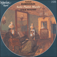 Cover of CDD22023 - Rubinstein: Solo Piano Music