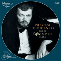 Cover of CDD22024 - Nikolai Demidenko live at Wigmore Hall