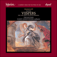 CDD22028 - Monteverdi: Vespers for the Feast of Santa Barbara