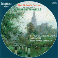 Cover of CDD22038 - Howells: St Paul's Service & other music