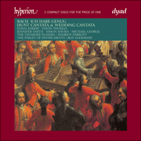 Cover of CDD22041 - Bach: Wedding Cantata & Hunt Cantata