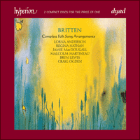 Cover of CDD22042 - Britten: Complete Folk Song Arrangements