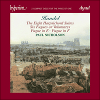 Cover of CDD22045 - Handel: Harpsichord Suites
