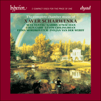 Cover of CDD22046 - Scharwenka: The Complete Chamber Music