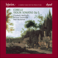 Cover of CDD22047 - Corelli: Violin Sonatas Op 5