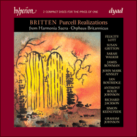 Cover of CDD22058 - Britten: Complete Purcell Realizations