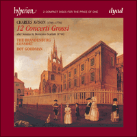 Cover of CDD22060 - Avison: Concerti Grossi