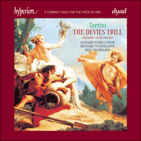Cover of CDD22061 - Tartini: The Devil's Trill & other violin sonatas