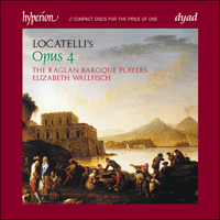 Cover of CDD22064 - Locatelli: Sonatas (Op 4