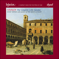 Cover of CDD22065 - Vivaldi: The Complete Cello Sonatas