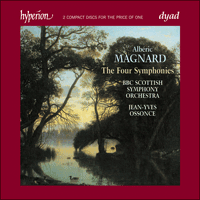 Cover of CDD22068 - Magnard: The Four Symphonies