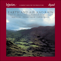 Cover of CDD22070 - Finzi: Earth & Air & Rain