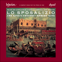 Cover of CDD22072 - Lo Sposalizio � The wedding of Venice to the sea