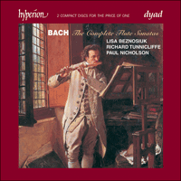 Cover of CDD22077 - Bach: The Complete Flute Sonatas & the attributions