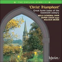 Cover of CDP12101 - The English Hymn, Vol. 1 � Christ Triumphant