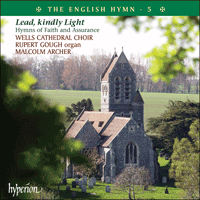 Cover of CDP12105 - The English Hymn, Vol. 5 � Lead, kindly Light