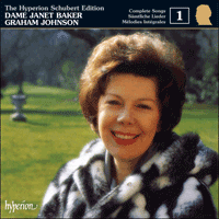 CDJ33001 - Schubert: The Hyperion Schubert Edition, Vol. 1 � Janet Baker