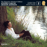 Cover of CDJ33002 - Schubert: The Hyperion Schubert Edition, Vol. 2 � Stephen Varcoe