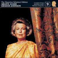 Cover of CDJ33009 - Schubert: The Hyperion Schubert Edition, Vol. 9 � Arleen Auger