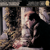 Cover of CDJ33012 - Schubert: The Hyperion Schubert Edition, Vol. 12 � Adrian Thompson
