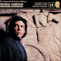 Cover of CDJ33014 - Schubert: The Hyperion Schubert Edition, Vol. 14 � Thomas Hampson