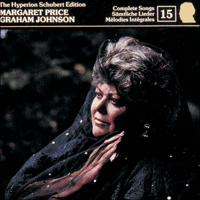 Cover of CDJ33015 - Schubert: The Hyperion Schubert Edition, Vol. 15 � Margaret Price