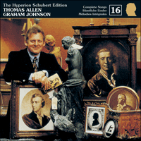 Cover of CDJ33016 - Schubert: The Hyperion Schubert Edition, Vol. 16 � Thomas Allen