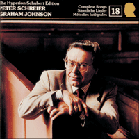 Cover of CDJ33018 - Schubert: The Hyperion Schubert Edition, Vol. 18 � Peter Schreier