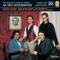 Cover of CDJ33020 - Schubert: The Hyperion Schubert Edition, Vol. 20