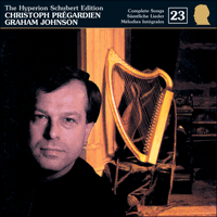 Cover of CDJ33023 - Schubert: The Hyperion Schubert Edition, Vol. 23 � Christoph Pr�gardien