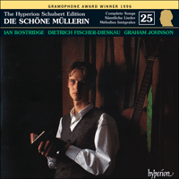 CDJ33025 - Schubert: The Hyperion Schubert Edition, Vol. 25 - Ian Bostridge