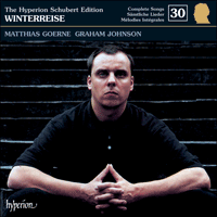 Cover of CDJ33030 - Schubert: The Hyperion Schubert Edition, Vol. 30 � Matthias Goerne