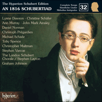 Cover of CDJ33032 - Schubert: The Hyperion Schubert Edition, Vol. 32