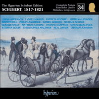 Cover of CDJ33034 - Schubert: The Hyperion Schubert Edition, Vol. 34