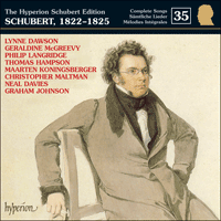 Cover of CDJ33035 - Schubert: The Hyperion Schubert Edition, Vol. 35