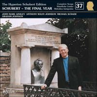 CDJ33037 - Schubert: The Hyperion Schubert Edition, Vol. 37 � John Mark Ainsley, Anthony Rolfe Johnson & Michael Schade