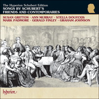 Cover of CDJ33051/3 - Songs by Schubert's contemporaries